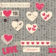 Valentine day card — Stock Vector #39379713