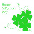 St. Patrick day card — Stock Vector #40082113