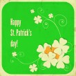 St. Patrick day card — Stock Vector #40082121