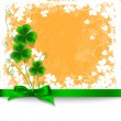 Stock Vector: St. Patrick day card