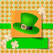 St. Patrick day card — Stockvektor