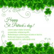 St. Patrick day card — Stock Vector #40948891