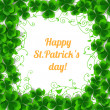 St. Patrick day card — Stock Vector #40948901