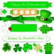 St. Patrick day elements — Stock Vector