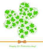 St. Patrick day card — 图库矢量图片