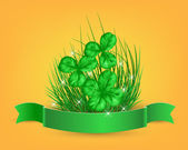 St. Patrick  day card — Stockvector