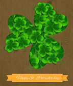 St. Patrick day card — Stock vektor