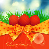 Easter card — Vecteur