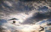 Gliding towards the Sun — Stock Photo