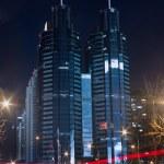Night view of modern city — Stock Photo #18310763