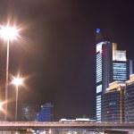 Night view of modern city — Stock Photo #18311143
