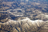 Landscape of snow mountains in Japan near Tokyo — ストック写真