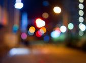 Uma imagem de um fundo de luzes agradável — Foto Stock