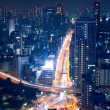 Night view of Tokyo cityscape — Stock Photo