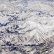 Landscape of snow mountains in Japan near Tokyo — Stock Photo #30158929