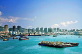 Phoenix Island Harbour of Sanya China — Stock Photo