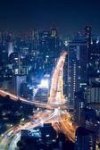 Night view of Tokyo cityscape — Foto de Stock