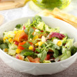 Bowl of mixed salad — Stock Photo