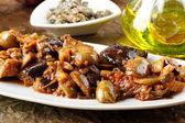Sicilian caponata — Stock Photo