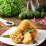 Arancini rice and meat — Stock Photo #20391541