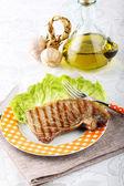 Tuna fillet roasted — Stock Photo