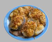 Pesce fritto 2 — Foto Stock