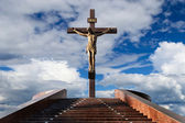 Statue of the crucifixion — Stock Photo