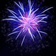 Colorful fireworks on the black sky — Stock Photo #14437123