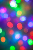 Defocused abstract festive lights — Stock Photo