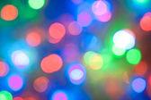Niewyraźne lights uroczysty streszczenie — Zdjęcie stockowe
