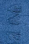 Tappezzeria texture luminosa sciarpa lavorata a maglia — Foto Stock
