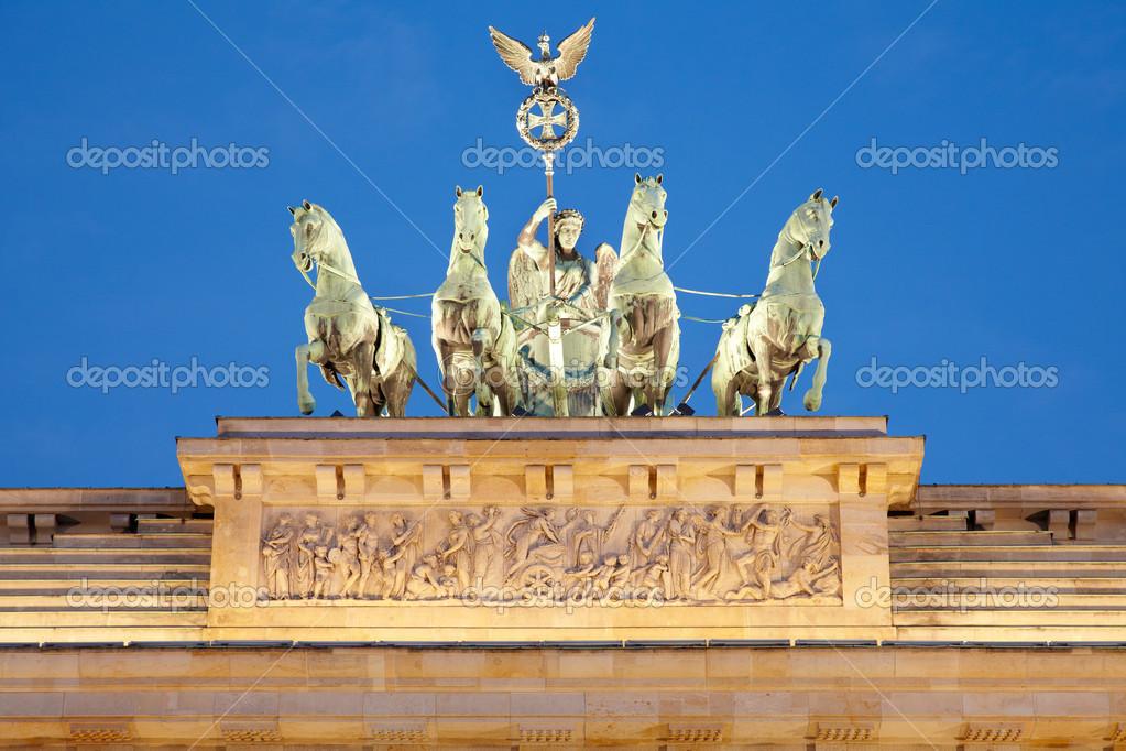 Brandenburg Gate Quadriga Quadriga on Brandenburg Gate