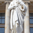 Friedrich Schiller statue, Berlin — Stock Photo