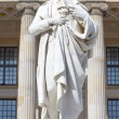Friedrich Schiller statue, Berlin - Stock Photo
