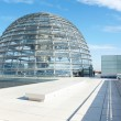 Reichstag Dome, Berlin modern achitecture - Stock Photo
