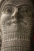 Cabeça antiga estátua babilônica — Foto Stock