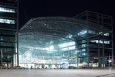 Berlin gece merkez i̇stasyonu — Stok fotoğraf
