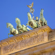 Brandenburg gate detail, Berlin — Stock Photo #13919492