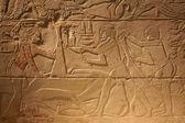 Oude egypte oude geschriften op stenen achtergrond — Stockfoto