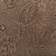 Leather floral pattern background — Stockfoto