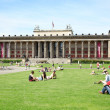 Antiquity Museum in Berlin, in summer — Stock Photo
