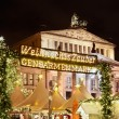 Stock Photo: Christmas market in Gendarmenmarkt, Berlin