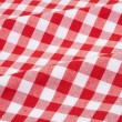 Tablecloth red and white texture background — Stock Photo #26140869