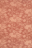 Floral brown wallpaper texture background — Stock Photo
