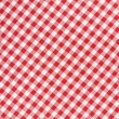 fond de texture diagonale nappe rouge et blanc — Photo