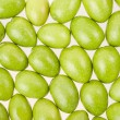 Green olives texture background — Foto de stock #33584243