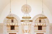 Arquitetura de mesquita em amã, jordânia — Foto Stock