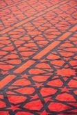 Arap Camii yıldız süslemeli halı — Stok fotoğraf