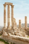Temple of Hercules ruins in Amman, Jordan — Stock Photo