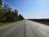 Road and asphalt — Stock Photo